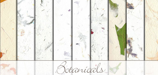 Botanical  Handmade Wallpaper